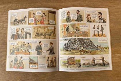 Publican un cómic sobre el inventor Isaac Peral coincidiendo con la botadura del submarino que llevará su nombre