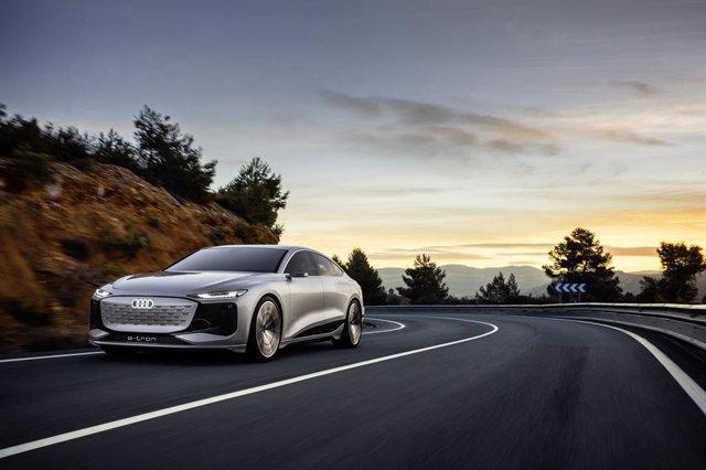 Archivo - Audi A6 e-tron concept