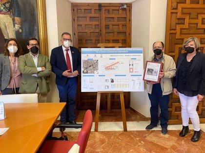La Diputación entrega el proyecto de la intervención en el arroyo de la Cruz del Muelle en Doña Mencía