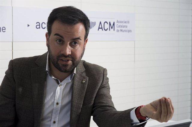 Archivo - El presidente de la Associació Catalana de Municipis (ACM), Lluís Soler