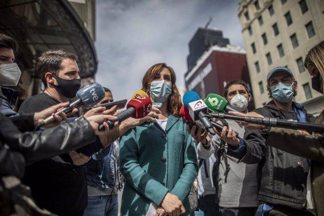 La candidata de Más Madrid al 4M, Mónica García