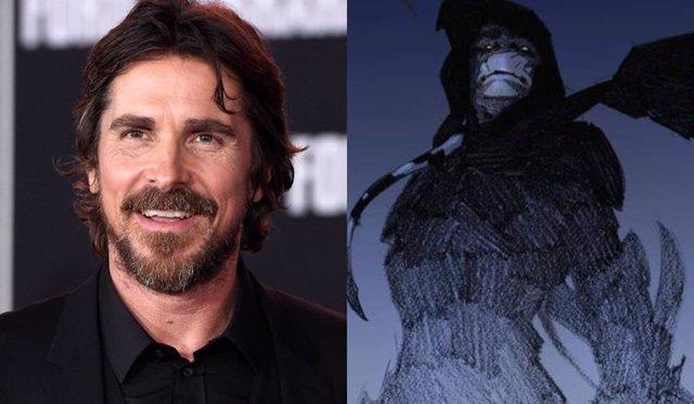 Cambio radical de Christian Bale en el set de Thor: Love And Thunder