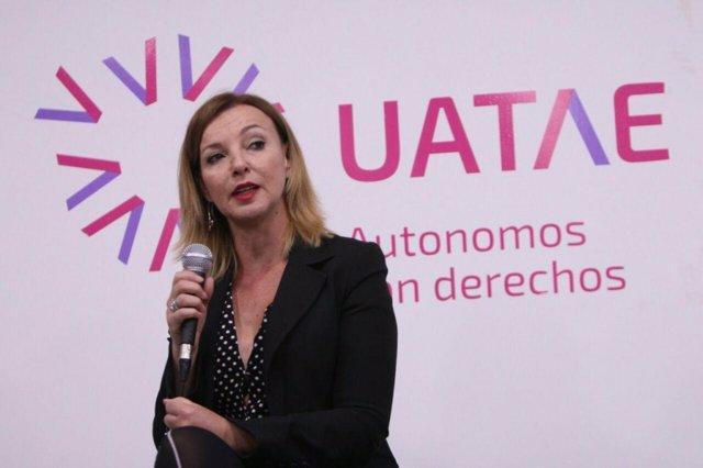 Archivo - La secretaria general de Uatae, María José Landaburu