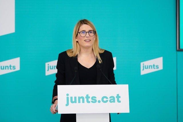 Arxiu - La vicepresidenta de Junts, Elsa Artadi.