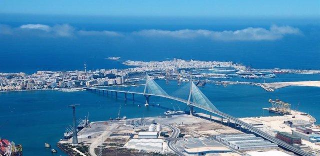 Archivo - Imagen aérea del segundo puente