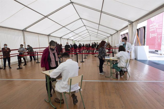 Comienza la vacunación masiva en Castelló