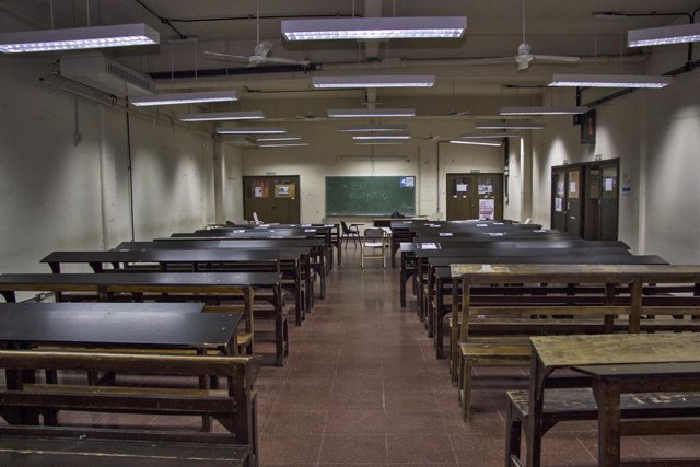 Imagen de archivo de un colegio público en Argentina.