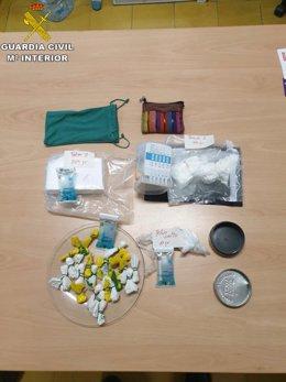 Arxiu - Material que es va trobar dins el taxi.