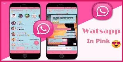 Cuidado con WhatsApp Rosa, una versión maliciosa que infecta el móvil con un virus