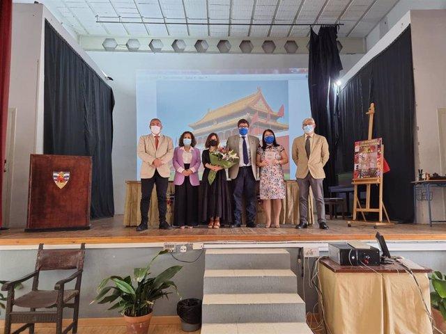 Inauguración de la III Semana Cultural 'De la China milenaria a la joven China' del IES Padre Luis Coloma en Jerez