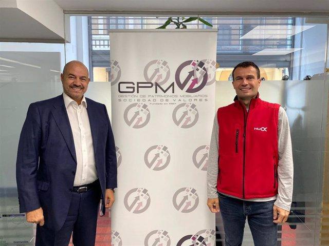 Juan José Llinares, consejero delegado de GPM (I) e Iván Contreras, fundador de Humanox (D).