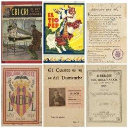 Imagen de archivode fondos custodiados en la Biblioteca Valenciana