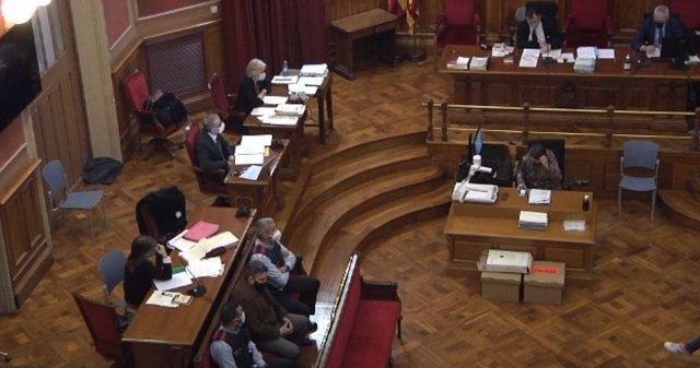 Arxiu - Judici a l'Audiència de Barcelona per la violació i assassinat d'una nena de 13 anys a Vilanova i la Geltrú (Barcelona) el 2018.