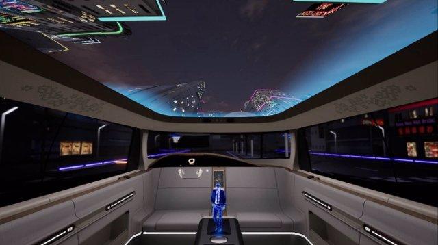 Archivo - 'Concept Art virtual' del Grupo Antolin, simulación del interior de un automóvil.