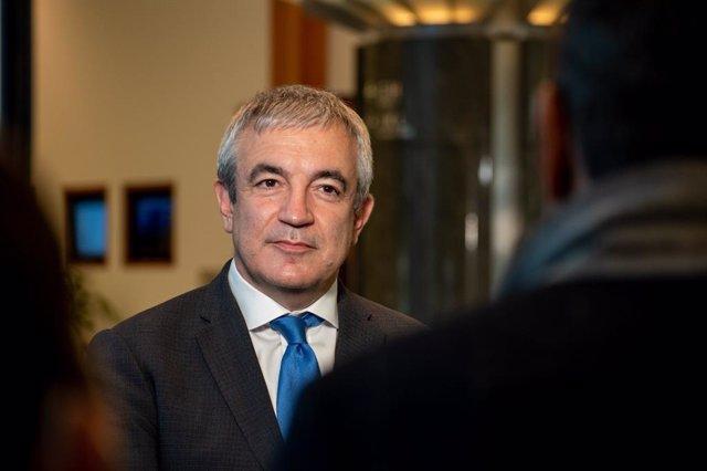 El eurodiputado de Ciudadanos Luis Garicano, en imagen de archivo