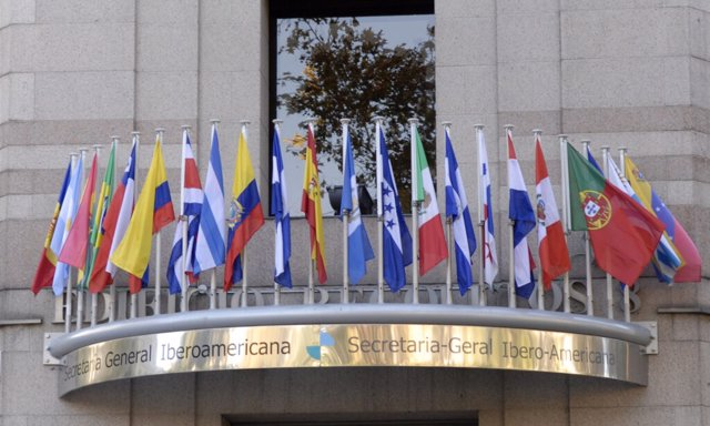 Sede de la Secretaría General Iberoamericana (SEGIB) en Madrid