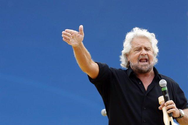 Archivo - El fundador del Movimiento 5 Estrellas, Beppe Grillo, en una imagen de archivo.