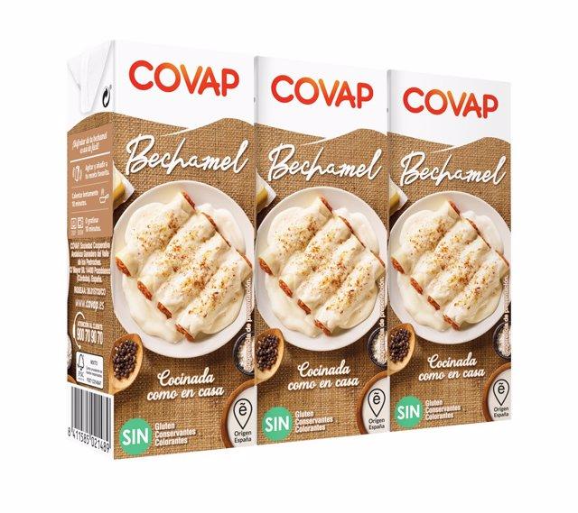 Nueva gama de salsas bechamel de Covap.