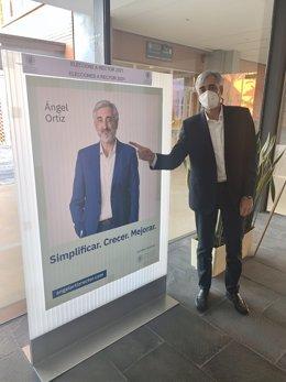 El candidat a rector de la Universitat Politècnica de València Ángel Ortiz