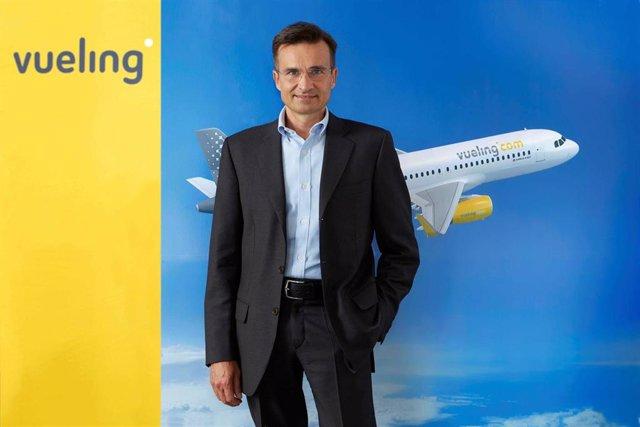 Archivo - Marco Sansavini, presidente y consejero delegado de Vueling