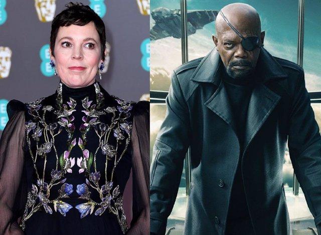 Archivo - Olivia Colman negocia con Marvel para fichar por la serie Secret Invasion