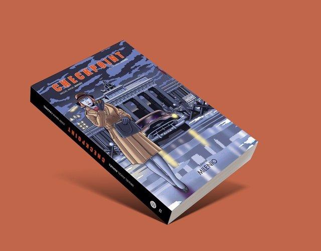 Cubierta de la novela gráfica 'Checkpoint' de Editorial Milenio