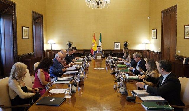 Archivo - Imagen de archivo del Consejo de Gobierno de la Junta