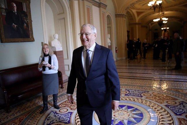 Archivo - El exvicepresidente de los Estados Unidos, Walter Mondale.