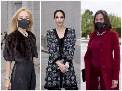 Eugenia Silva, Inés Sastre o Carmen Lomana, derroche de elegancia y glamour en el último estreno en el Teatro Real