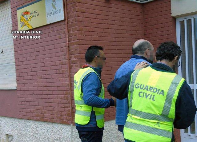 Guardia Civil detiene a un experimentado delincuente relacionado con hurtos a ancianos en Cabo de Palos