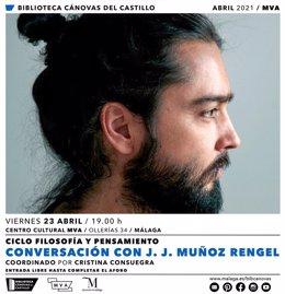 Muñoz Rengel con 'Historia de la mentira', en el Ciclo 'Filosofía y Pensamiento' de la biblioteca Cánovas del Castillo