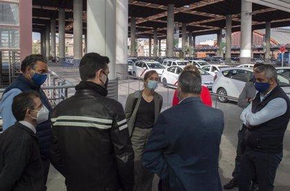 """Más Madrid exige inspecciones, ratios 1/30 y el fin de la """"ley la selva"""" del PP, que busca desregular el taxi"""