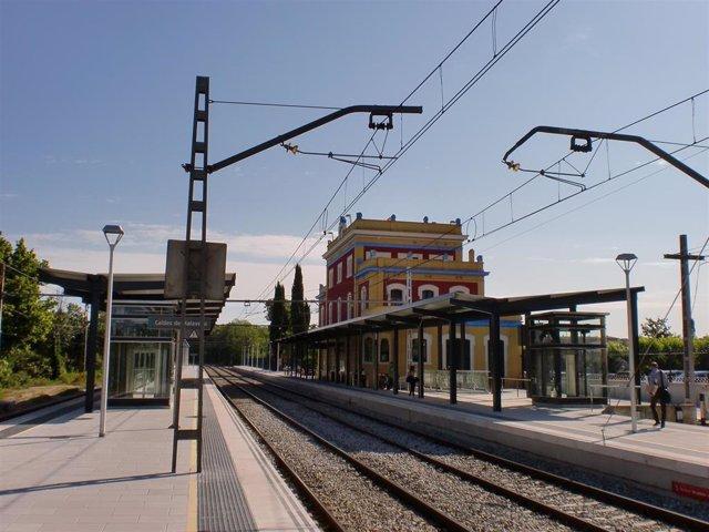Estación de Renfe de Caldes de Malavella (Girona)
