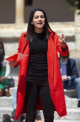 Arxiu - La presidenta de Cs,  Inés Arrimadas.