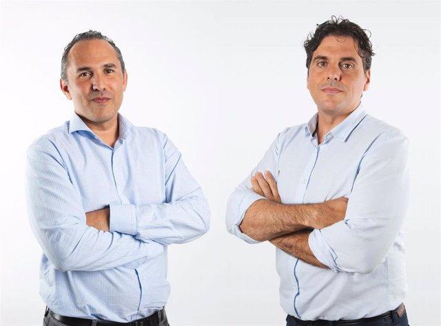 Óscar Gómez y Roger Fernández, de SolarProfit