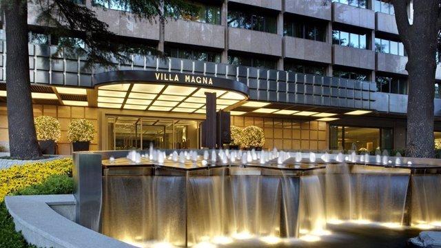 Archivo - Hotel Villa Magna en Madrid.
