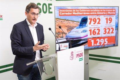 """PSOE ejercerá """"presión"""" para que """"no exista ningún cambio más"""" y el AVE con Murcia llegue entre 2025 y 2026"""