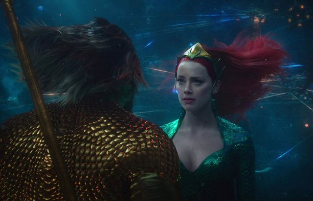 Amber Heard confirma su regreso como Mera en Aquaman 2 con una foto en el set de rodaje