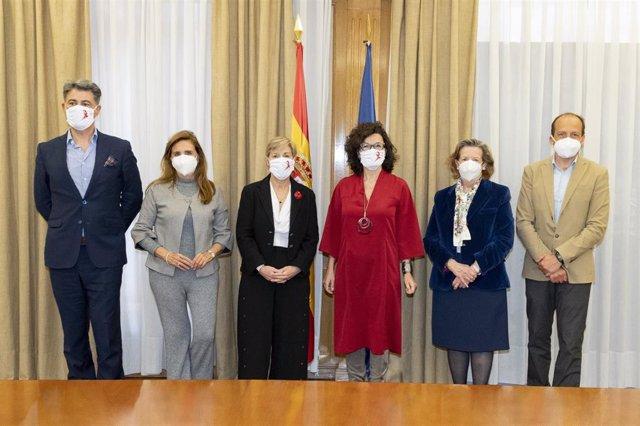 Sanidad refrenda la ampliación del acuerdo entre la Fundación de la AEP y ANDI