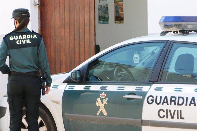 Archivo - Coche de la Guardia Civil.