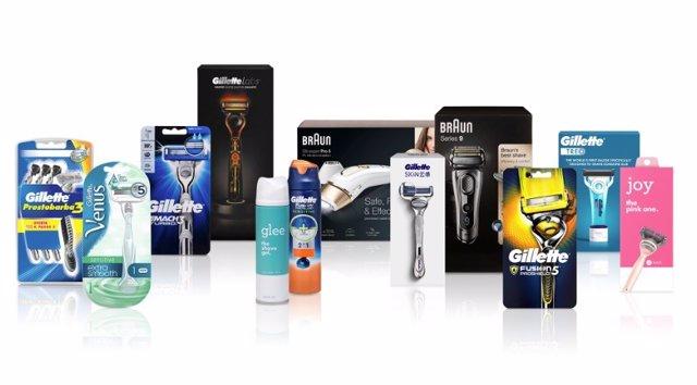 Archivo - Maquinillas de afeitar de Procter & Gamble