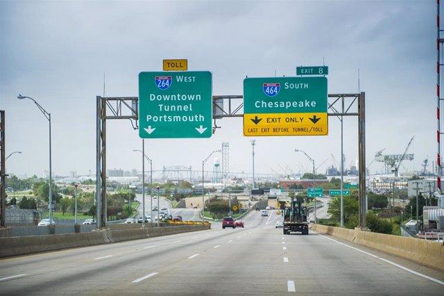 Archivo - Imagen de la carretera de Abertis en Estados Unidos