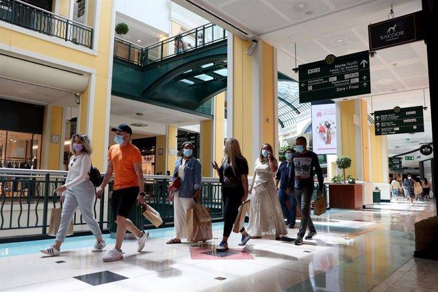 Centro comercial en Lisboa