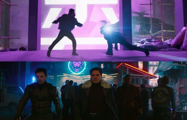¿Conexión De Falcon Y El Soldado De Invierno Con Shang-Chi Y La Leyenda De Los Diez Anillos?