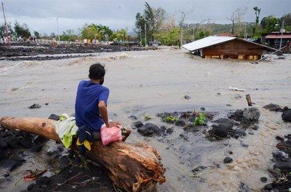 El tifón 'Bising' deja dos fallecidos y más de 100.000 evacuados en Filipinas