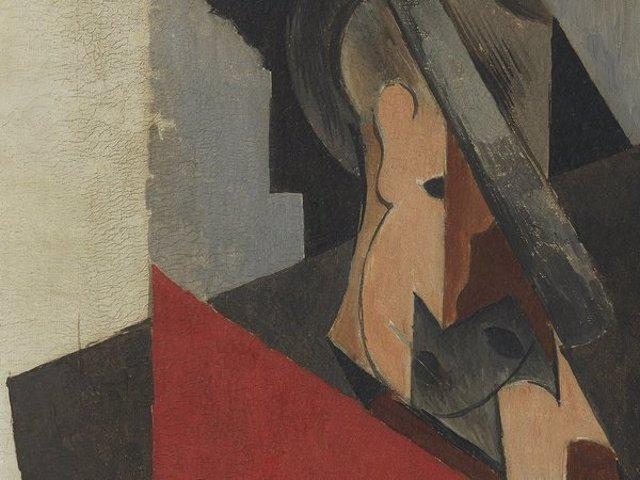 Archivo - Hombre Sentado (Picasso 1917)