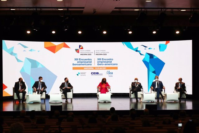 Conversatorio del Encuentro Económico Iberoamericano celebrado en Andorra la Vella (Andorra)