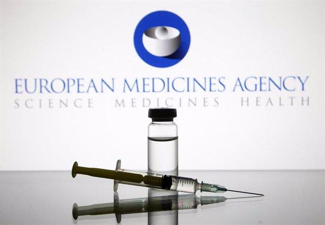 Archivo - Logo de la Agencia Europea del Medicamento (EMA, por sus siglas en inglés)