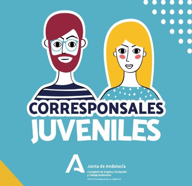 Cartel del encuentro de corresponsañes juveniles del IAJ.