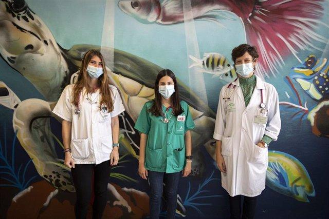 Pediatras galardonados.